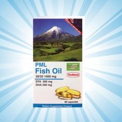 PML Fish Oil 30/20 (พีเอ็มแอล ฟิชออยล์) : น้ำมันปลา ใช้ลดไตรกลีเซอไรด์ในเลือด